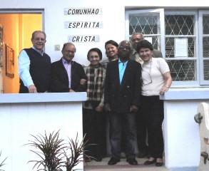 2-UNEMO-Dirigentes e visitantes-Maputo