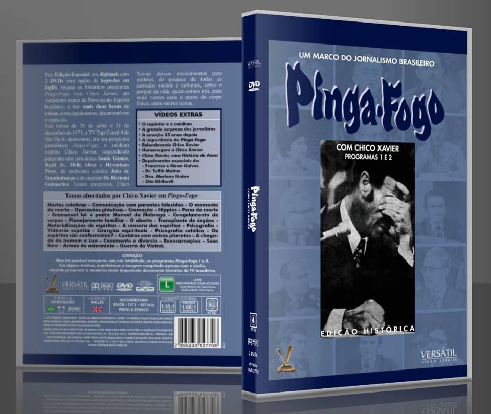 DVD Pinga Fogo
