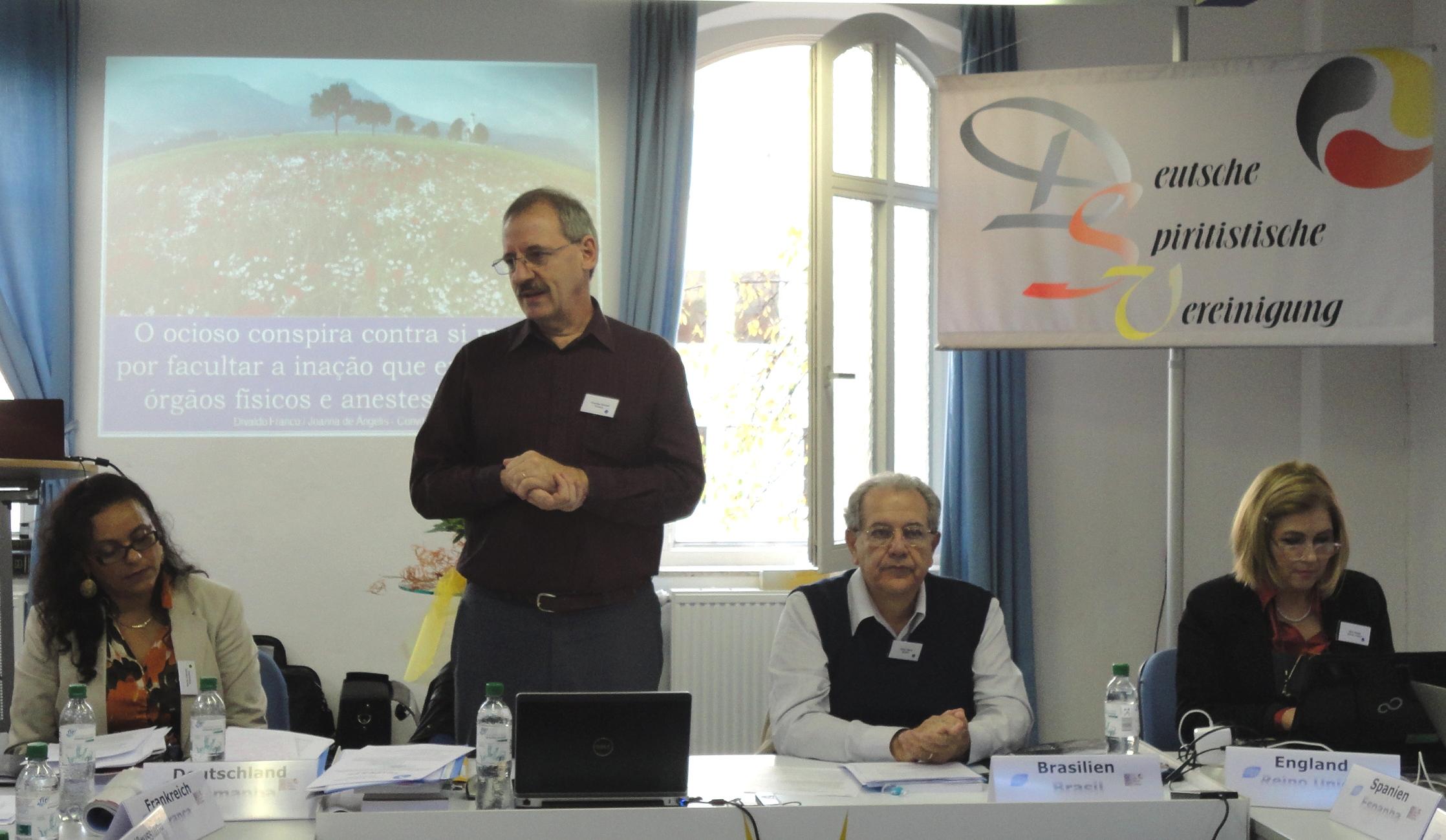 Stuttgart-Mesa Diretora Reuniao CEI-Europa