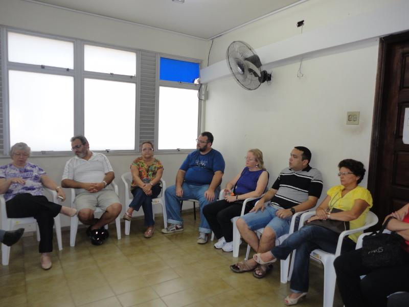 UEP-Dirigentes reunidos com FEB