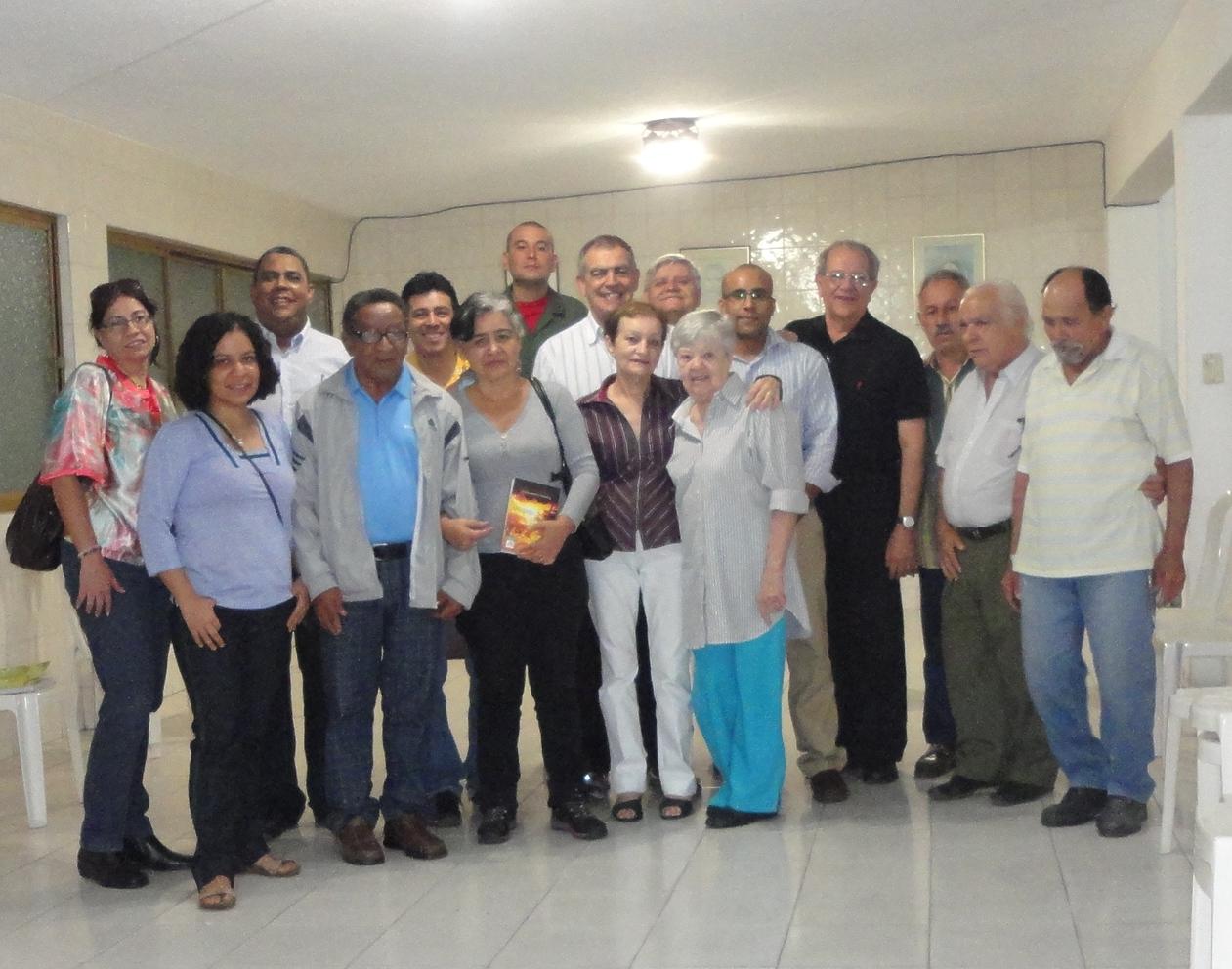 2-Venezuela-Mensaje Fraternal, em Caracas-Dirigentes e Colaboradores