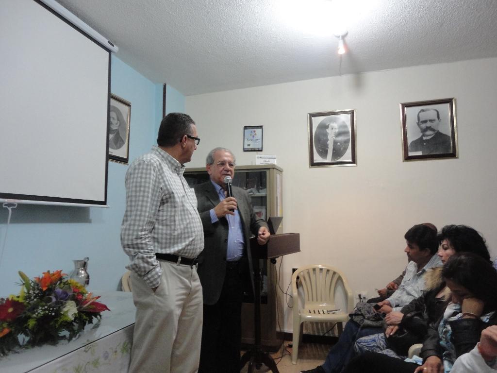 3-Bogota-Presidente da Confecol e Perri na abertura do Seminario