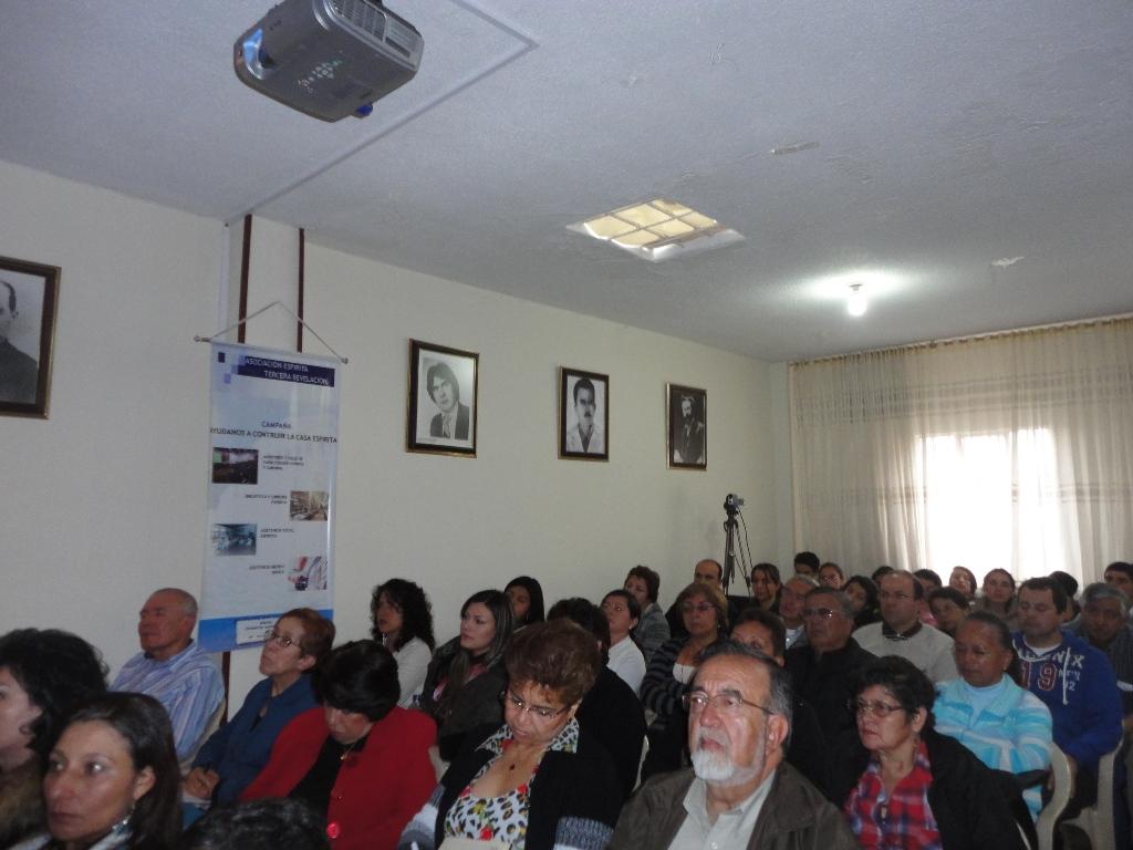4-Bogota-Dirigentes no Seminario sobre Unificacao