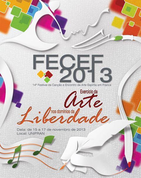 cartaz do fecef