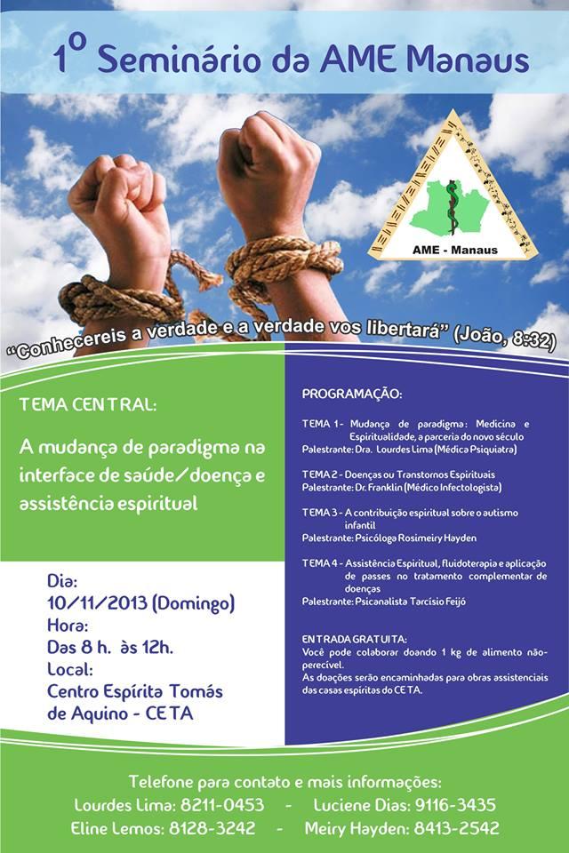 seminario ame amazonas