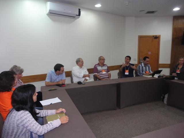 6-CongressoGoiás-Reunião do NEPE FEEGO com equipe da FEB-1