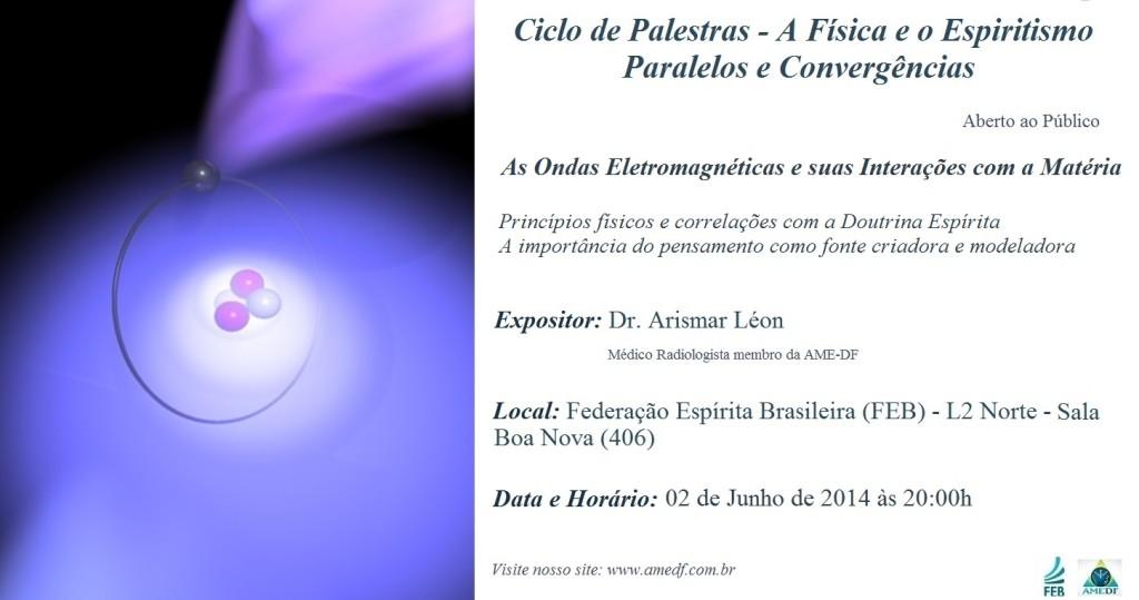Ciclo De Palestras AMEDF Junho 2014