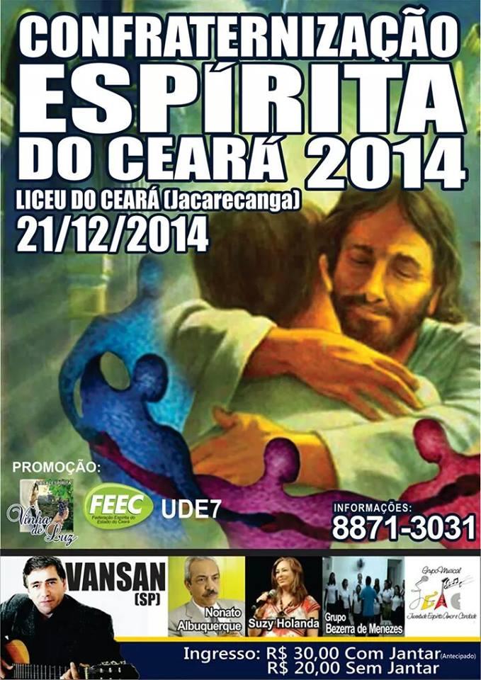 Confraternização Espírita do Ceará - Cópia