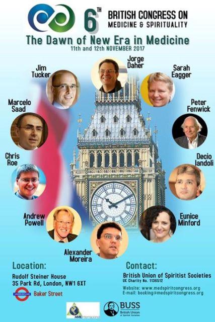 6º congresso britânico de medicina e espiritualidade - BUSS