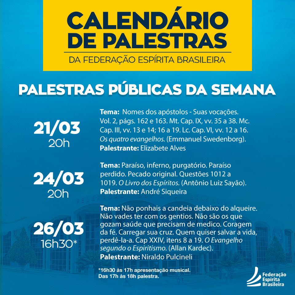 calendário de palestras 123