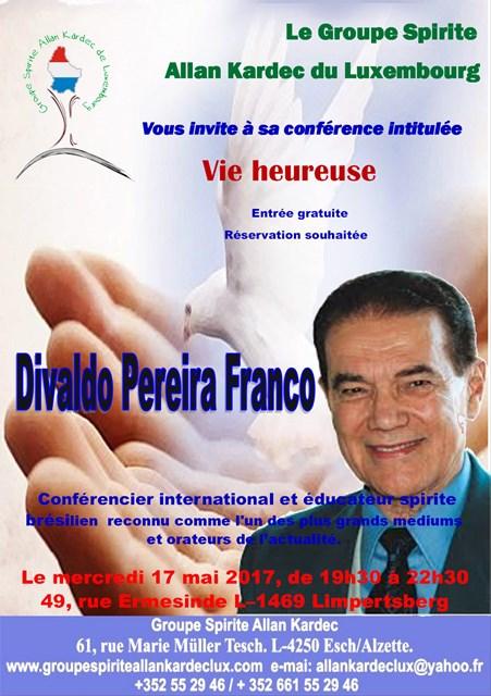 conferência internacional com Dilvaldo Franco