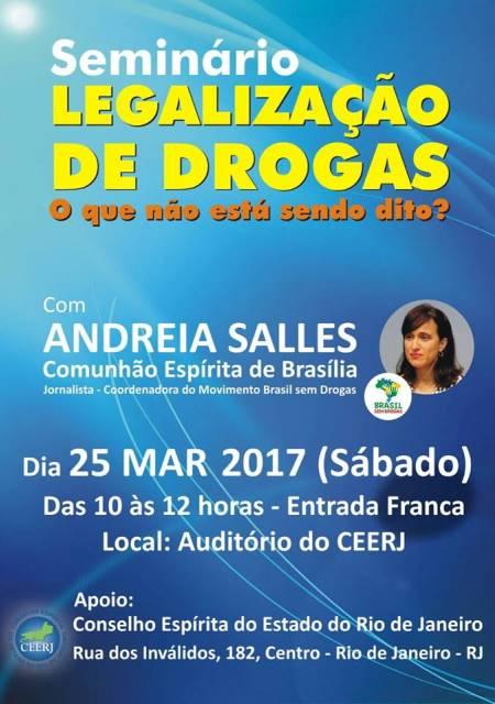 seminário legalização de drogas - ceerj