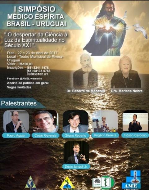 1º Simpósio Médico Espírita Brasil - Uruguai