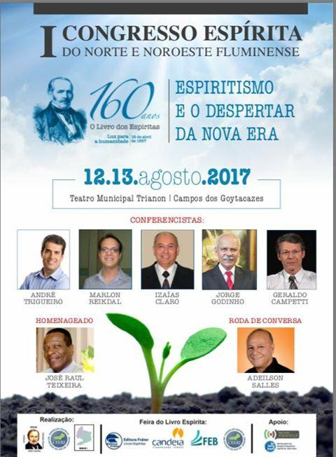 1º congresso espírita do norte e nordeste fluminense