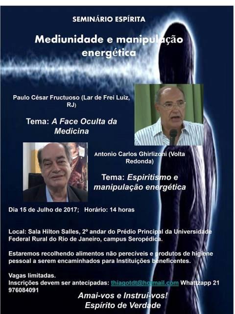 mediunidade e manipulação energética - CEERj