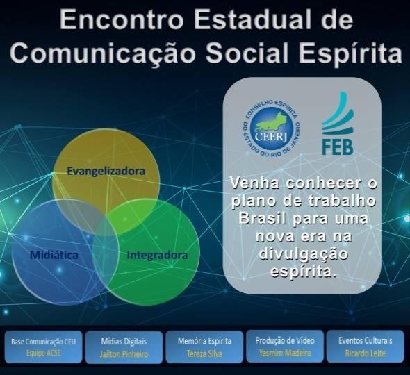 Encontro Estadual de Comunicação Social Espírita - CEERJ