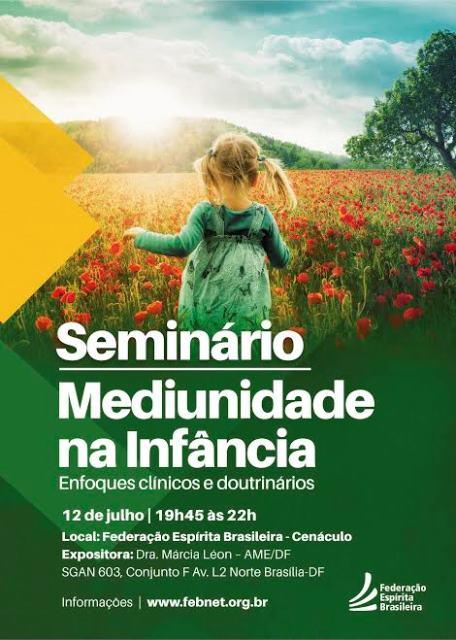 Seminário Mediunidade na Infância - FEB