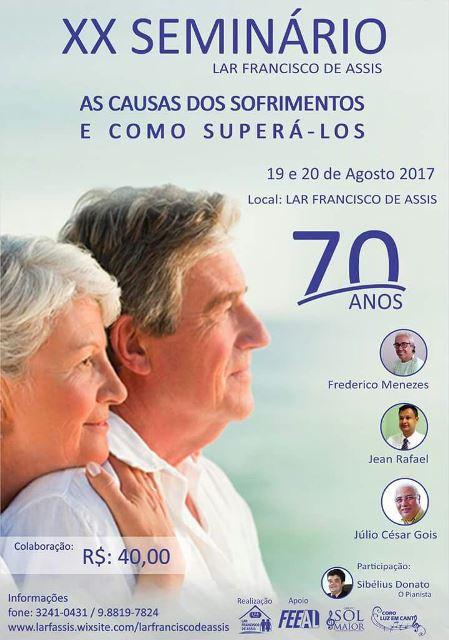 20º Seminário do Lar Francisco de Assis
