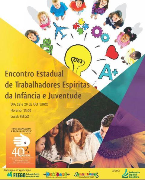 Encontro Estadual de Trabalhadores Espíritas da Infância e Juventude - FEEGO