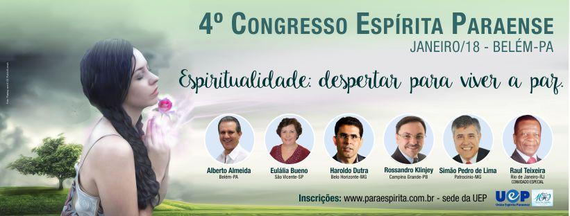 4º congresso espírita paraense - UEP