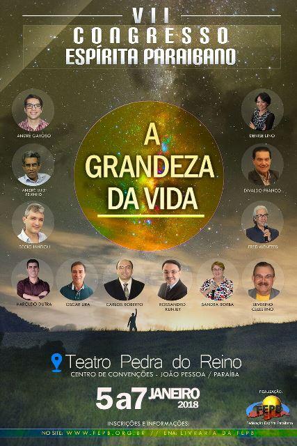 7º congresso espírita paraibano - FEPB