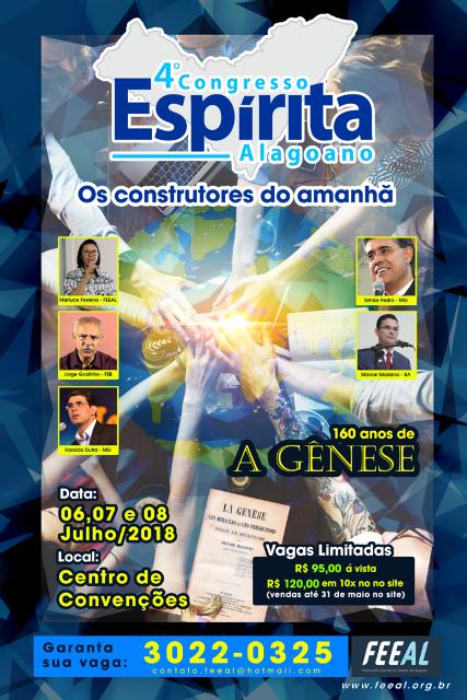 4º congresso espírita alagoano - FEEAL