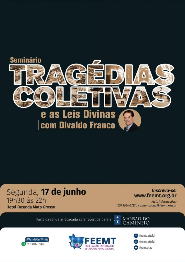 Seminario com divaldo franco em Cuiabá